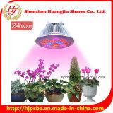 12With24W E27 PAR38 kweekt Hydroponic LEIDENE Installatie Lichten die Lamp voor de Serre van de Tuin kweken