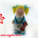 Boneca da cadela da boneca dos desenhos animados da peluche