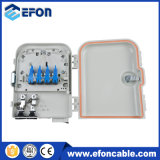 FTTH Distribution Box Terminal Box 8 Ports com Splitter Connector Sc/APC