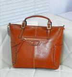 Mesdames sac à main en cuir sac fourre-tout / Femmes en gros Fashion Elegance Sac bandoulière en cuir