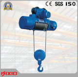 Подъем веревочки провода крана на козлах 0.5 тонн электрический с вагонеткой