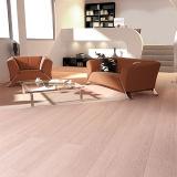 1830mm Comprimento Classic Flat White Oak Bamboo Flooring
