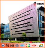 Exterior PVDF Revestimiento Nueva Diseñado panel compuesto de aluminio de Spectra (ACP)