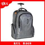 (KL046) Qualitäts-Rucksack-Beutel mit Rad-Geschäfts-Laufkatze-Laptop-Rucksack