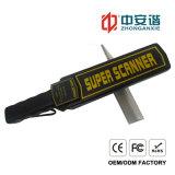 Детектор металла широкого ряда скеннирования высокоскоростной ручной с индикаторной лампой