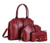 Senhora ajustada Desenhador Forma Bolsa da mulher do saco composto de 4 PCS