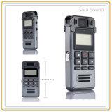 Enregistreur vocal sonore d'enregistreur avec le lecteur MP3 pour le contact/étude (ID8835)