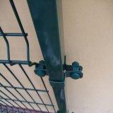 Construcción soldada marco de alambre de malla