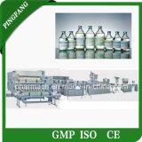 Normaler salziger Infusion-Produktionszweig der Glasflaschen-IV