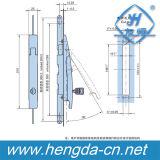 Black Zinc Electrical Cabinet 3 Point Rod Control Lock (YH9530)