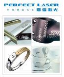宝石類かリングまたはコードまたはロゴまたは金属の非金属携帯用ファイバーレーザーのマーカー