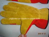 Het Leer van de koe handschoen-Werkt handschoen-Industriële handschoen-Goedkope handschoen-Handschoenen