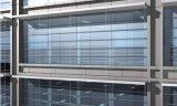 Pared de cortina prefabricada del marco de acero del palmo ancho para el edificio de la oficina/de la alameda