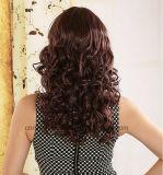 Hersteller, die grosse Wellen-Birne Cosplay synthetische Haar-Perücke verkaufen