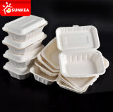 "8 "" pranzo Box con Three Compartments"