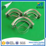 Ss304 metallischer Intalox Sattel für tiefes Vakuum