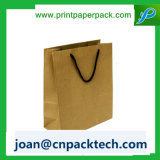 Bolso de la maneta de la cuerda de Brown Kraft Paperable