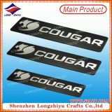 Metal Logo Customized Metal Car Logoのための車Logo Zinc Alloy Metal Label