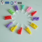 Vela elegante da cor da cera da manufatura do projeto do produto profissional de China
