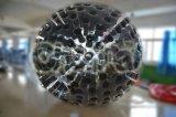 Bola inflable comercial de Inlatable Zorb del color del negro de la bola del cuerpo humano