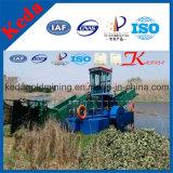 フルオートマチックの川の浚渫船のWeedの収穫機機械