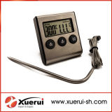 Steel inoxidable Digital Food Cooking Thermometer para Meat