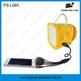 Квалифицированный солнечный фонарик с заряжателем радиоего и мобильного телефона
