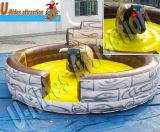 Bull mecânica inflável principal dura