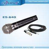 Microfono collegato Dynnmic cardioide di qualità di Karaok buon con cavo
