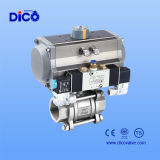 St Pneumatic 3PC Ball Valve
