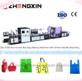 China-berühmte Marke 5 in 1 nicht gesponnenem Kasten-Beutel, der Maschine Zxl-E700 herstellt