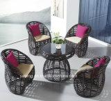 Prezzo competitivo del Pe-Rattan per qualsiasi tempo con la mobilia esterna superiore del giardino che pranza Chair&Table impostato (YT673)