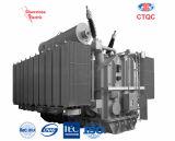 De overheadkosten voeren Stap - onderaan de Transformator van de Distributie van de Enige Fase op