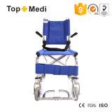 Алюминиевая облегченная портативная кресло-коляска междурядья самолета кресло-коляскы перемещения