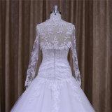 Longue robe faite sur commande de mariée de bille d'amoureux de chemises