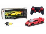 4 la Manche Remote Control Car avec Light Battery Included (10253128)
