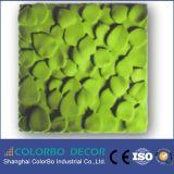 Tipo acústico eficaz los paneles de la fibra de poliester 3D