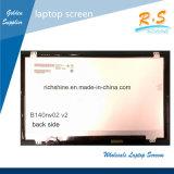 14.0 Moniteur B140RW02.2 d'ordinateur portatif de l'étalage d'écran de rechange d'affichage à cristaux liquides de cahier/ordinateur portatif de DEL B140RW02 V2
