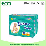 Asoleado un pañal disponible del bebé de la alta absorción suave estupenda del grado de China