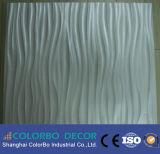 建築材料の装飾的な波の壁パネル