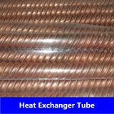 Tube ondulé de nickel de cuivre (C44300, C70600, C71500)