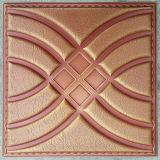 Панель стены PU роскоши 3D кожаный для украшения (HS-MK007)