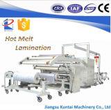 Máquina que lamina de la tela del pegamento automático de Hotmelt