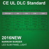 Super Slim et étroit LED à panneau rond avec 3 ans de garantie
