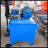 Línea de producción simple de la máquina de bloques de hormigón completamente automática