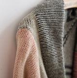 2017人のOEMのジャカードロゴの新しい方法デザイン女性セーター