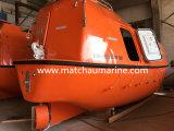 O Ec de CCS aprovou o barco salva-vidas totalmente fechado de 26 pessoas