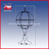 산타클로스와 가진 레이스 Decoration Red Festival Tabletop Lamp