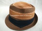 Sombrero de paja cosido del sombrero de ala de la trenza de la trenza de papel