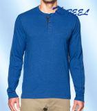 綿のスパンデックスの高品質の中国からの長い袖のワイシャツ